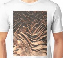 Macro Copper Abstract Unisex T-Shirt