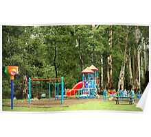 Forest playground Poster