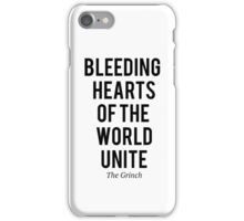 The Grinch - Bleeding hearts iPhone Case/Skin