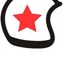 Vintage Helmet Red star by fabien-p