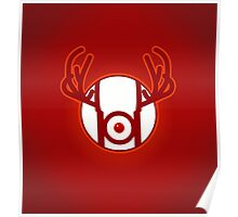RED NOSED LANTERN Poster