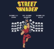 Street Invader Baby Tee