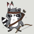 Apache The Raccoon by lunaticpark