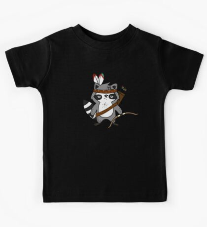 Apache The Raccoon Kids Tee
