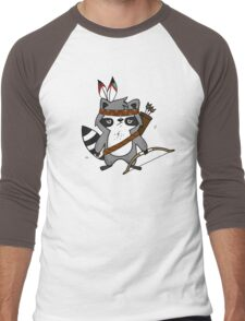 Apache The Raccoon Men's Baseball ¾ T-Shirt