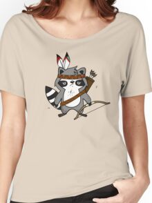 Apache The Raccoon Women's Relaxed Fit T-Shirt
