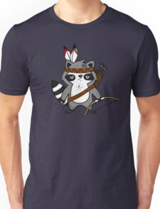 Apache The Raccoon Unisex T-Shirt