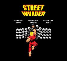 Street Invader by RetroGameAddict