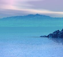 Islands In The Mist by Wayne Bonney