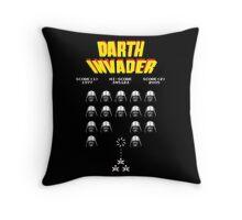 Darth Invader Throw Pillow