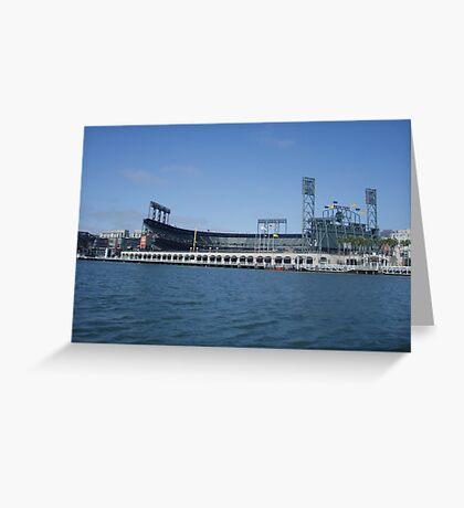 Giants stadium Greeting Card