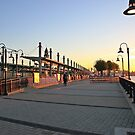 NJ Transit's Light Rail Station Hoboken by pmarella