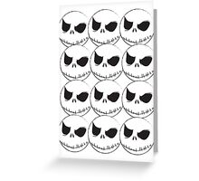 Jack Skeleton Greeting Card