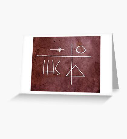 Religious symbols illustrations Greeting Card