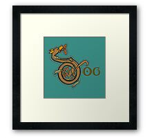 Dog - Lazy Dog series Framed Print