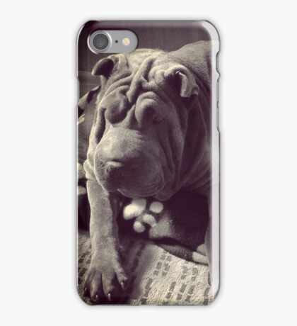Old time Leo iPhone Case/Skin