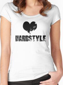 Heart For Hardstyle Women's Fitted Scoop T-Shirt