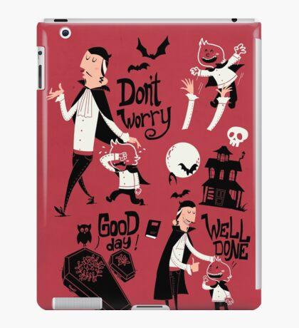 Dracula and Son iPad Case/Skin