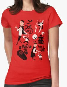 Dracula and Son Womens Fitted T-Shirt