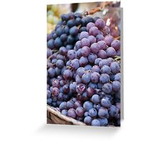 black grape Greeting Card