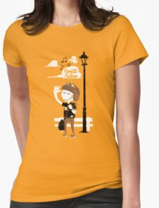 Smile and Wave Womens Fitted T-Shirt