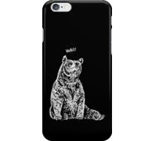 Bear with Crown iPhone Case/Skin