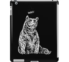 Bear with Crown iPad Case/Skin