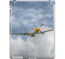 P51 Mustang - Cadillac of the Sky iPad Case/Skin