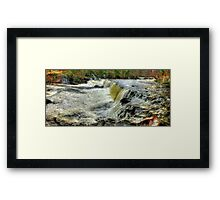 Upper Falls Aysgarth 1 - HDR Framed Print