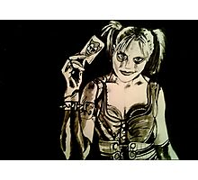 Harley Quinn - Arkham City Photographic Print