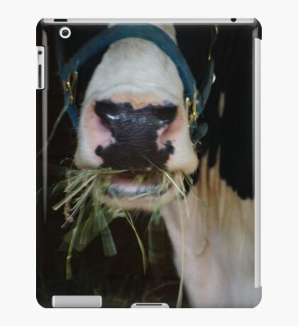 Cow Mouth Chewing iPad Case/Skin