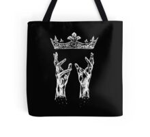 Reaching for crown Tote Bag