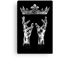 Reaching for crown Canvas Print
