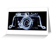 Eye of the Camera! Greeting Card