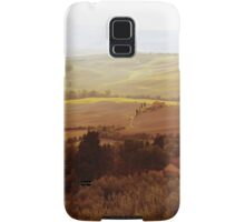 abstract hilly landscape Samsung Galaxy Case/Skin