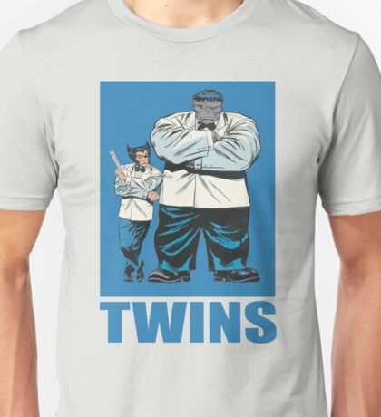 Wolverine & The Hulk • Twins Unisex T-Shirt