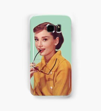 Young Audrey Hepburn  Samsung Galaxy Case/Skin