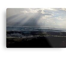 abstract hilly landscape Metal Print