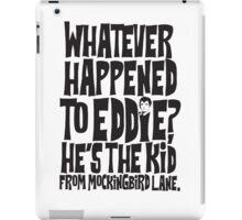 Eddie Munster iPad Case/Skin