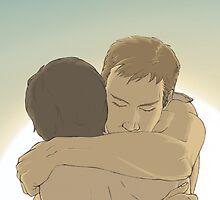 The hug by Kitsune Arts