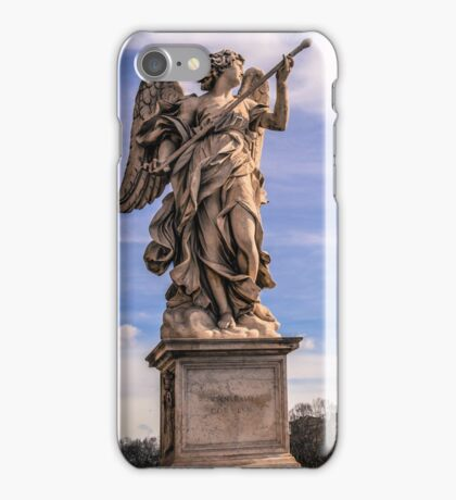 Angel in Rome iPhone Case/Skin