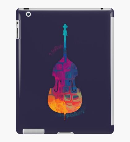 Double Bass Color iPad Case/Skin
