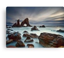 Sea Arch At Crohy Head Canvas Print