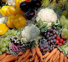 Variaty of vegetables by Arie Koene