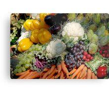 Variaty of vegetables Metal Print