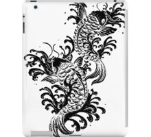 Detailed koi tattoo iPad Case/Skin