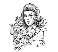 Spring Goddess Photographic Print