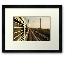 Eastbound  Framed Print