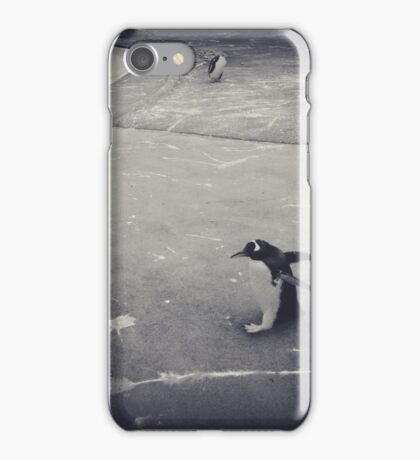 It's just a penguin iPhone Case/Skin