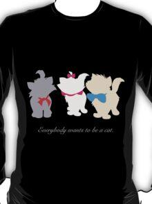Aristocats inspired design. T-Shirt